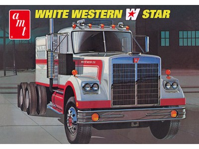 1:25 Scale Western Star Semi Tractor - Plastic Model Kit