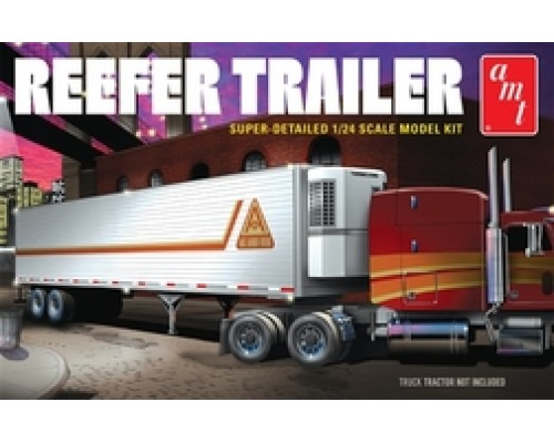 AMT 1:24 Refrigerated Semi Trailer Plastic Model Kit - Level 3