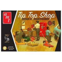 AMT 1:25 Tip Top Shop Garage Accessories Kit #2