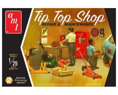 1:25 Scale Tip Top Shop Garage Accessories Kit #2