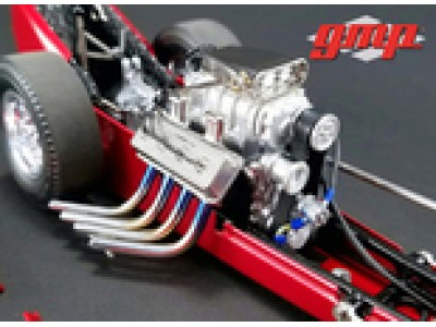 GMP 1:18 Engine from 'Barnstormer' Vintage Dragster