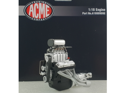 1:18 Scale Blown Small Block Chevrolet Engine & Transmission