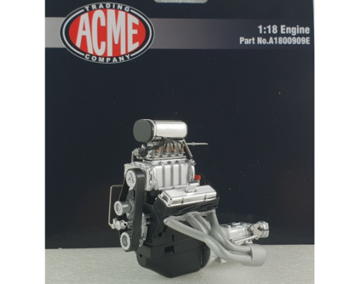 Acme 1:18 Blown Small Block Chevrolet Engine & Transmission