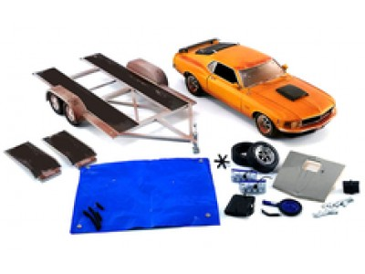 1:18 Scale Pork Chop's 1970 Ford Mustang Boss 429 - Weathered Barn Find