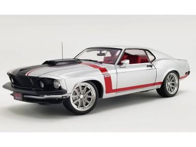 Acme 1:18 1969 Ford Mustang BOSS 302 Steet Fighter - Redline