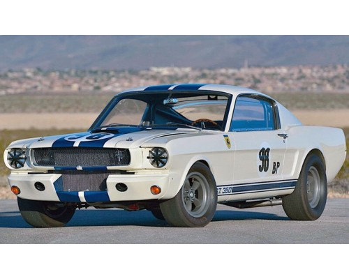 """Acme 1:18 1965 Shelby GT350R Mustang Prototype - """"The Flying Mule"""""""