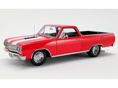 Acme 1:18 1965 Chevy El Camino Drag Outlaws Series - Red