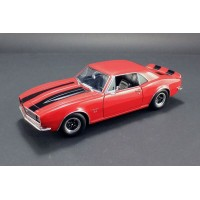 Acme 1:18 1967 Chevrolet Camaro 427 - Red with Black Stripes