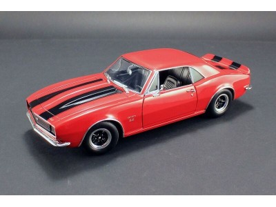 Chevrolet Camaro 427 in Red with Black Stripes 1967