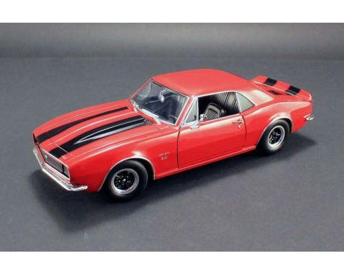1:18 Scale 1967 Chevrolet Camaro 427 - Red with Black Stripes