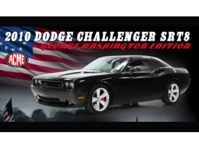 Acme 1:18 2010 Dodge Challenger SRT8 George Washington Edition