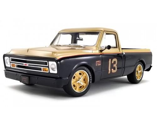 1:18 Scale 1967 Chev C-10 Pick Up - Smokey Unick Shop Truck