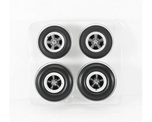 Acme 1:18 Wheel Sets Cragar SS Grey 5 Spoke Style
