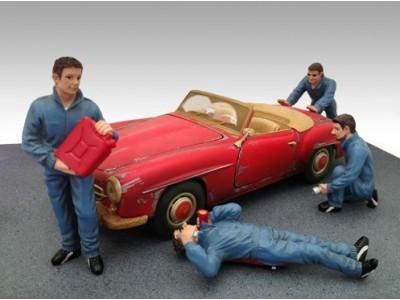 American Diorama 1:18 Model Workshop Mechanic Figurines Series I - Your Choice