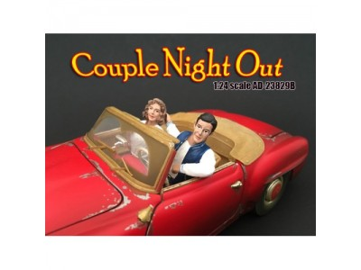 American Diorama 1:18 Figurines - Couples Seated