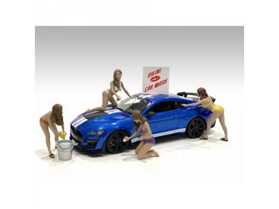 American Diorama 1:18 Car Wash Figurines Series - Your Choice