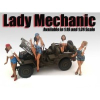 American Diorama 1:18 Model Mechanic  Series Figurines