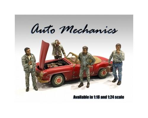 American Diorama 1:18 Model Auto Mechanic Series Figurines
