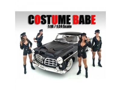 American Diorama 1:18 Model Costume Babe Series Figurines