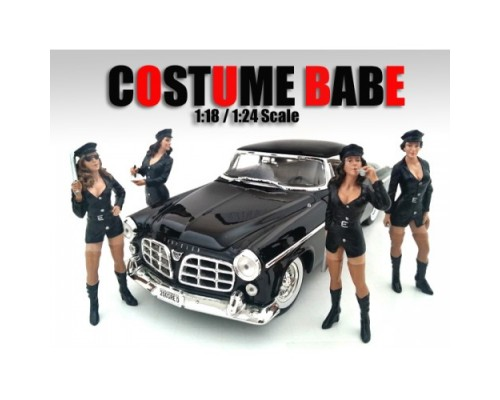 American Diorama 1:18 Model Costume Babe Figurines - Your Choice