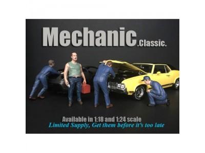 American Diorama 1:18 Model Classic Mechanic Series Figurines
