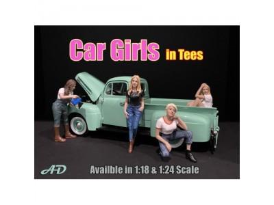 American Diorama 1:18 Model Car Girls Series Figurines