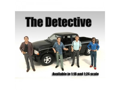 American Diorama 1:18 Model Detective Series Figurines
