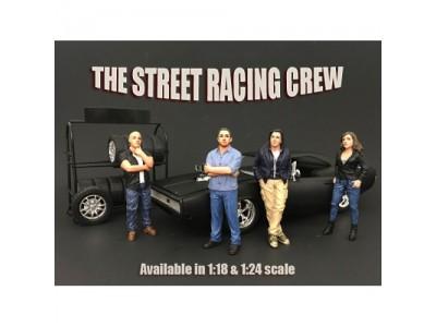 American Diorama 1:18 Model Street Racing Crew Series Figurines