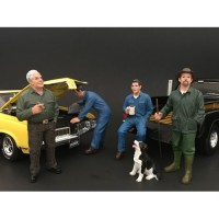 American Diorama 1:18 Model Workshop Mechanic Series II - Your Choice