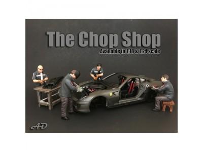 American Diorama 1:18 Model The Chop Shop Series  Figurines
