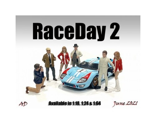 American Diorama 1:18 Race Day Figurines Series 2