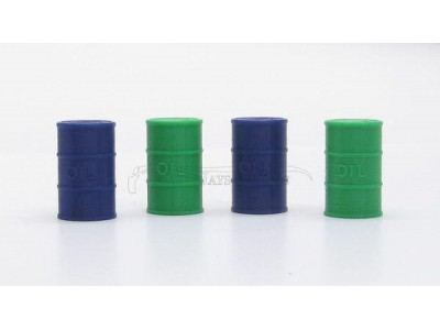1:32 Scale 44 Gallon Drum Models  Pack Of 4