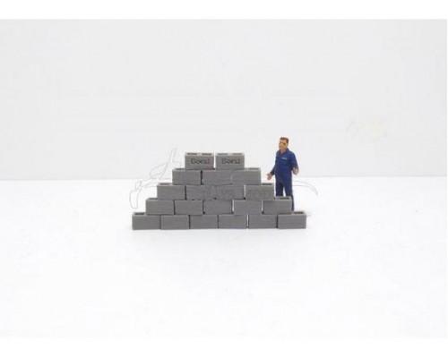 Aussie 3D 1:50 Concrete Boral Building Bricks - Qty 20