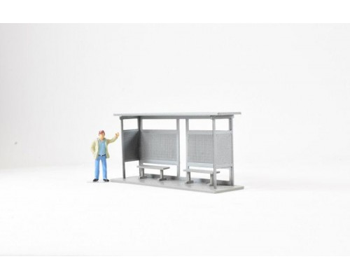 1:50 Scale Bus Stop Model
