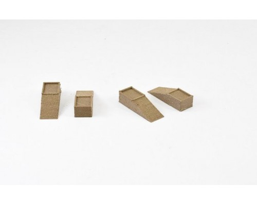 Aussie 3D 1:18 Car Ramps - Wooden - Set or 4