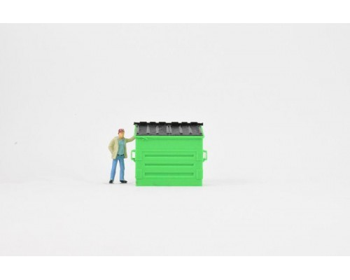 Aussie 3D 1:50 Dumpster Bin Model