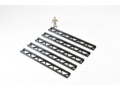 1:50 Scale Construction Girders - Black