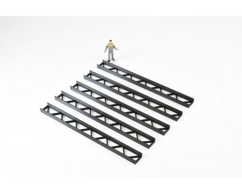 Aussie 3D 1:50 Construction Girders - Black - Qty 5