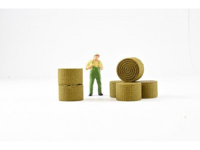 1:50 Scale Hay Bales - Pack Of 6