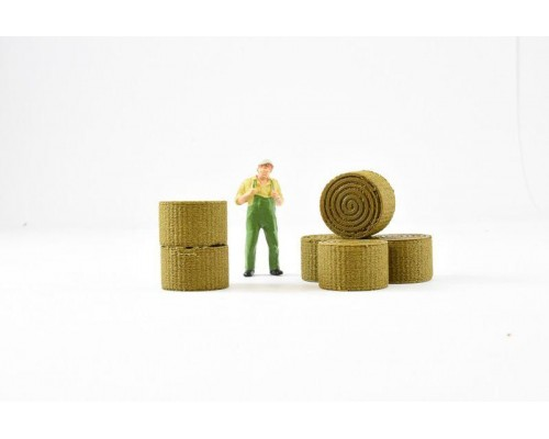 Aussie 3D 1:50 Hay Bales - Small - Qty 6