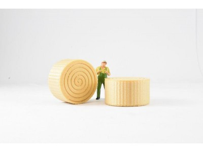 1:50 Scale Hay Bales #1 Model  Large