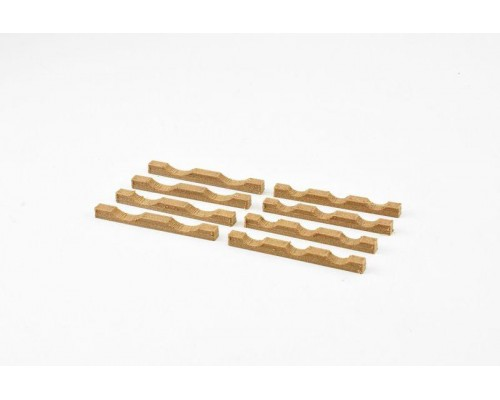Aussie 3D 1:50 Pipe Cradles - Small Wooden - Qty 8