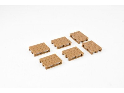Pallets - Pack of 6 - Wood-Plastic Composite