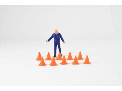 Aussie 3D 1:50 Safety Cones - 10 Pack