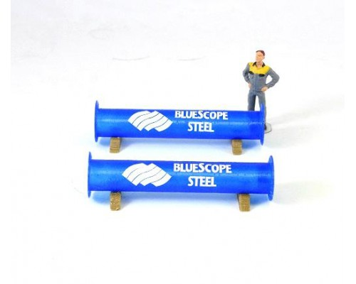 1:50 Scale  Pipe Section 2 Model