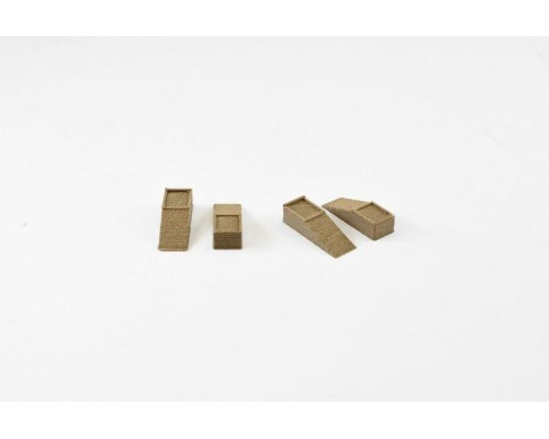Aussie 3D 1:50 Truck Ramps - Wooden - Set or 4