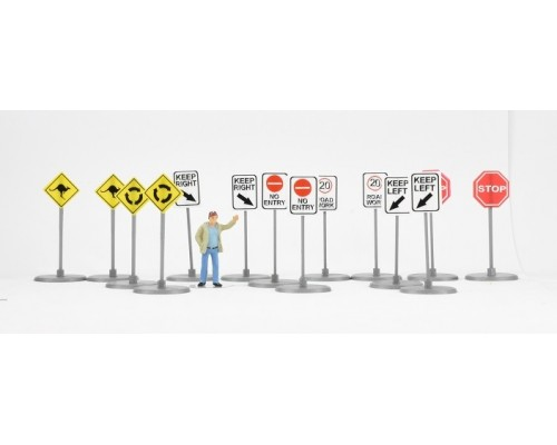 Aussie 3D 1:50 Australian Road Traffic Signs