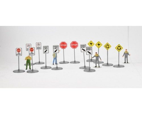 Aussie 3D 1:50 Australian Road Warning Signs