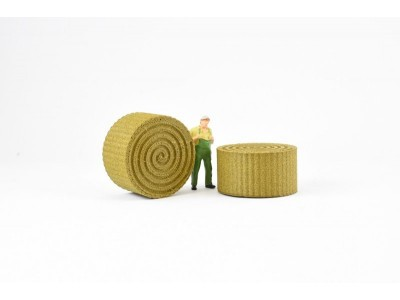 1:50 Scale Hay Bale Model  Large
