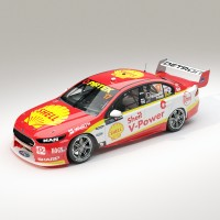 1:18 Scale Ford FGX Falcon Shell V-Power #17 McLaughlin 2017 Sandown